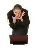 Confusão emocional da expressão Fotografia de Stock Royalty Free