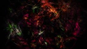 Confusão escura abstrata de cores diferentes Ilustração Stock
