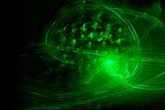 Confusão verde Fotografia de Stock Royalty Free
