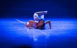 Confus-acte 2 : Pays des merveilles relation-moderne de danse de triangle photo libre de droits