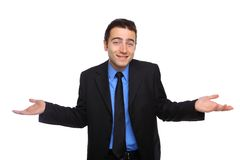 Confused бизнесмен Стоковые Фотографии RF