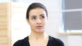 Confused, озадаченная женщина Стоковые Фотографии RF