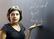 Confused студент Стоковое Изображение