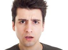 confused человек Стоковые Фотографии RF