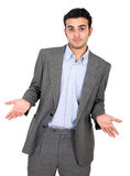Confused business man Royalty Free Stock Photography