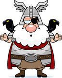 Confused Cartoon Odin Stock Photography