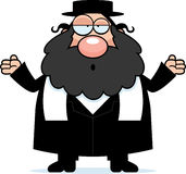Confused Cartoon Rabbi Royalty Free Stock Image