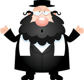 Confused Cartoon Rabbi Royalty Free Stock Images