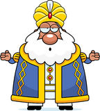 Confused Cartoon Sultan Royalty Free Stock Photos