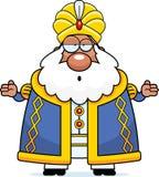 Confused Cartoon Sultan Royalty Free Stock Photos