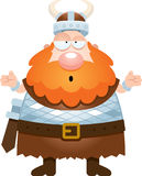 Confused Cartoon Viking Royalty Free Stock Images