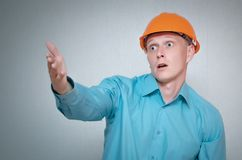 Builder. stock images