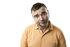 Confused Guy Royalty Free Stock Images