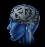 confused mänsklig intelligens Arkivbilder