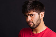 Confused man Royalty Free Stock Photo