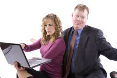 Confused people Royalty Free Stock Images