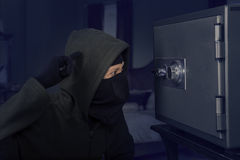 A confused robber Royalty Free Stock Photography