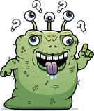 Confused Ugly Alien Royalty Free Stock Images