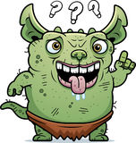 Confused Ugly Gremlin Royalty Free Stock Photos