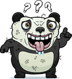 Confused Ugly Panda Royalty Free Stock Photo