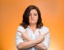 Confused woman Royalty Free Stock Photo