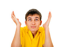 Confused Young Man Stock Photography