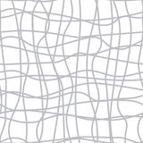 Confusing lines watermark abstract seamless pattern. Vector illustration Royalty Free Stock Images