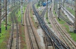 Confusing railway Royalty Free Stock Photos