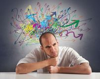 Confusion Stock Photography