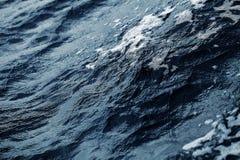 Confusion de la surface de mer comme fond texturisé Photo libre de droits