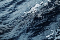 Confusion of sea surface as a textured background Royalty Free Stock Photo