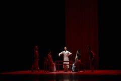 """ confuso de Lanfang†del drama""""Mei de la lucha-danza Imagenes de archivo"""