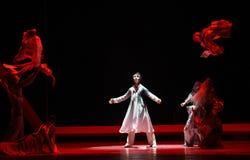 """ confuso de Lanfang†del drama""""Mei de la lucha-danza Foto de archivo libre de regalías"""