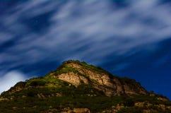 congères foncées de ciel de nuit d'illustration Photographie stock libre de droits