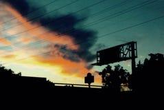congères foncées de ciel de nuit d'illustration Images libres de droits