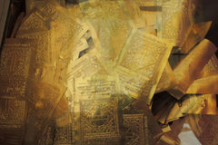 Congé d'or Images libres de droits