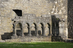 Cong Abbey, Ierland Stock Afbeelding
