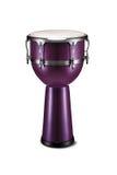 Conga de la púrpura de la percusión Fotografía de archivo