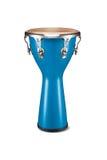 Conga dell'azzurro di percussione Fotografia Stock Libera da Diritti