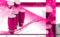 Congas toca Royalty Free Stock Photography