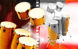 Congas toca Stock Image