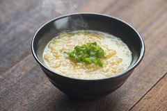 Congee bowl ready to serve Royalty Free Stock Photos