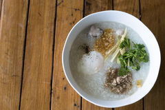 Congee breakfast Royalty Free Stock Photography