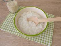 Congee com arroz imagem de stock