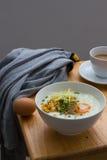 Congee del estilo chino de la comida tradicional Imágenes de archivo libres de regalías