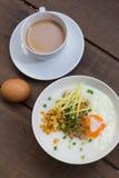 Congee del estilo chino de la comida tradicional Imagen de archivo