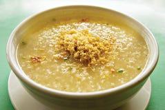 Congee del porridge del riso del cinese tradizionale Fotografia Stock