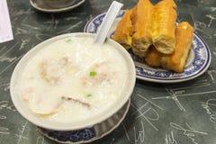 Congee di Hong Kong Immagini Stock