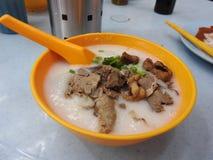 Congee do innards do porco em Kuala Lumpur Malaysia Fotos de Stock