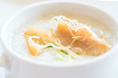 Congee Rice Porridge Stock Image